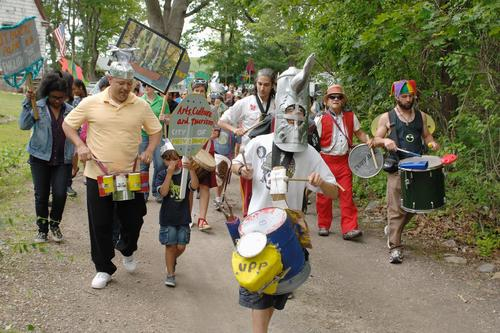 Urban Pond Procession, 2012