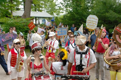 Urban Pond Procession, 2010
