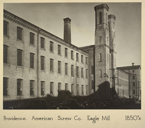 Providence. American Screw Co. Eagle Mill 1850s