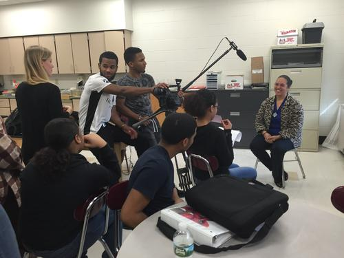 Interview with Loren Spears by students in Alvarez High School documentary film workshop