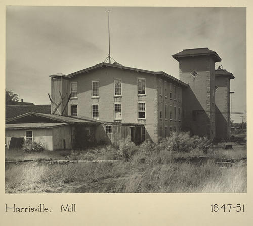 Harrisville. Mill 1847-51