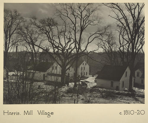 Harris. Mill Village c. 1810-20