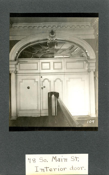 78 South Main Street, Interior Door