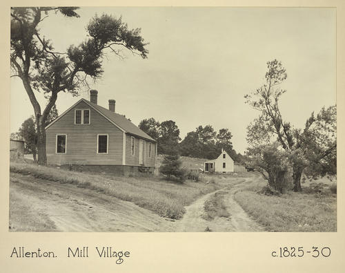 Allenton. Mill Village c. 1825-30