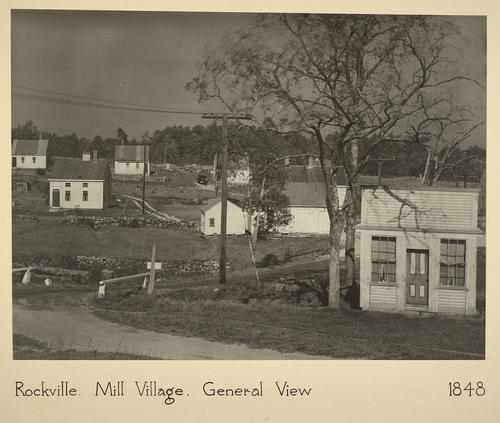 Rockville. Mill Village. General View 1848