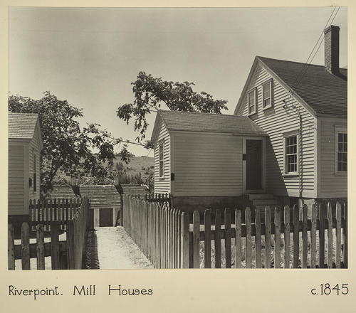 Riverpoint. Mill Houses c. 1845