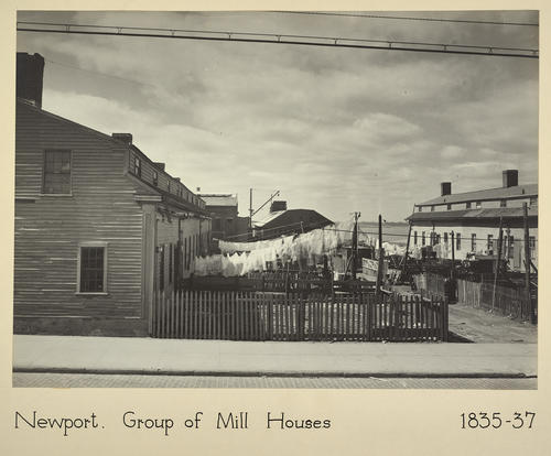 Newport. Group of Mill Houses 1835-37