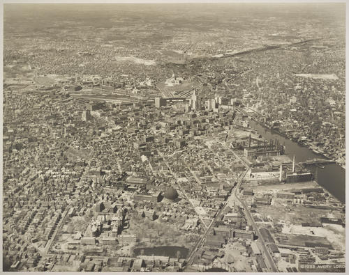 Providence and harbor, looking north, View of