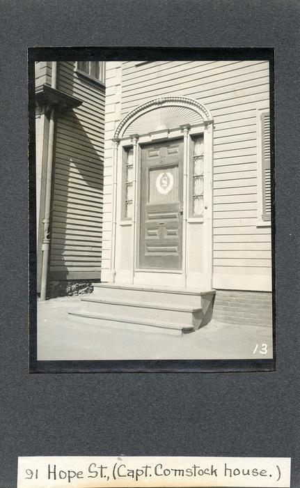 91 Hope Street, Capt. Comstock House