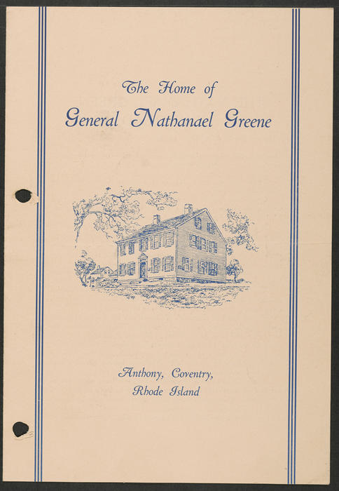 The Home of General Nathanael Greene, Coventry