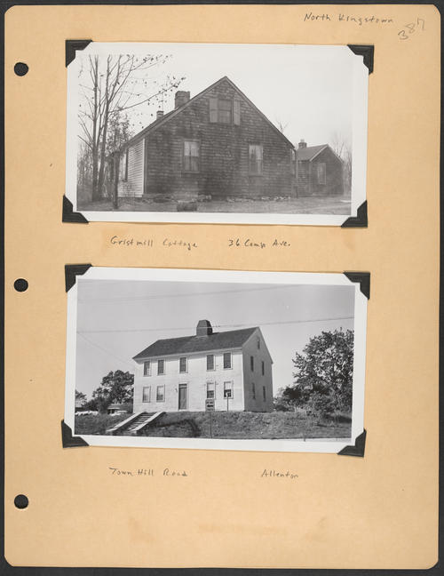Page 387, Camp Avenue; Town Hill Road