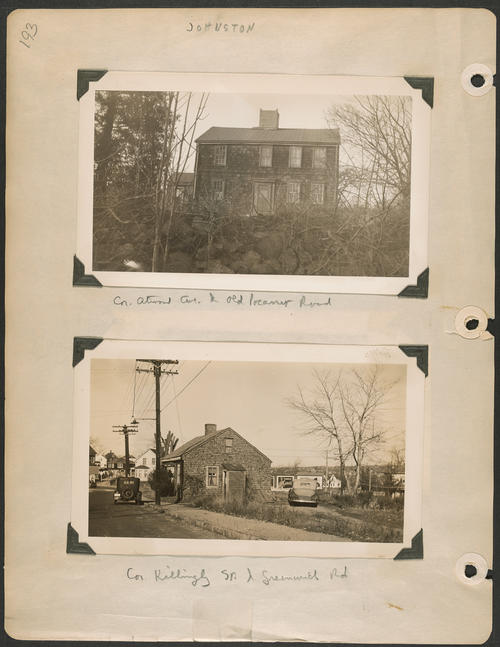 Page 193, Atwood Avenue; Greenwich Road; Killingly Street; Old Pocasset Road