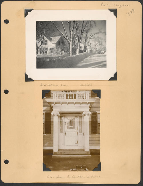 Page 389, Main Street; Church Street