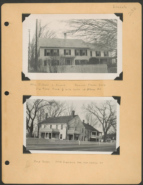 Page 236, Old River Road; Albion Road; Lonsdale Avenue; Walker Street