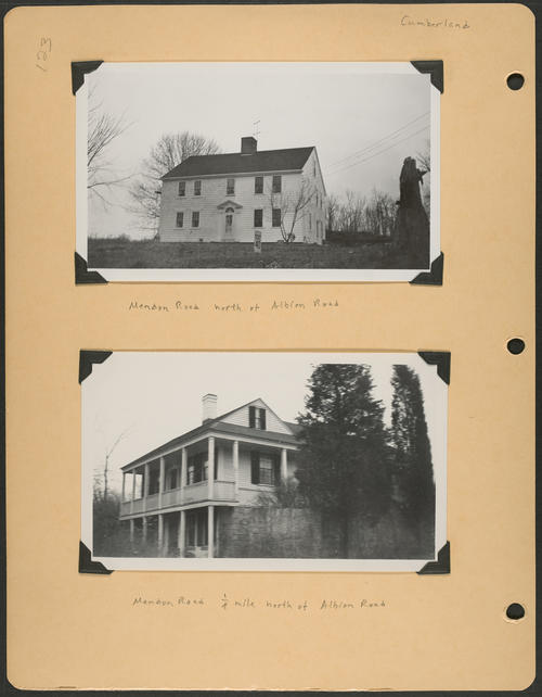 Page 123, Mendon Road; Albion Road