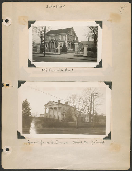 Page 192, Atwood Avenue; Greenville Road