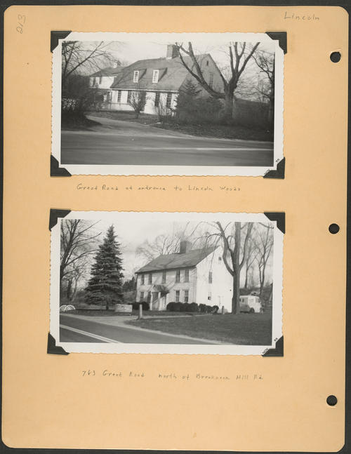 Page 213, Great Road; Breakneck Hill Road