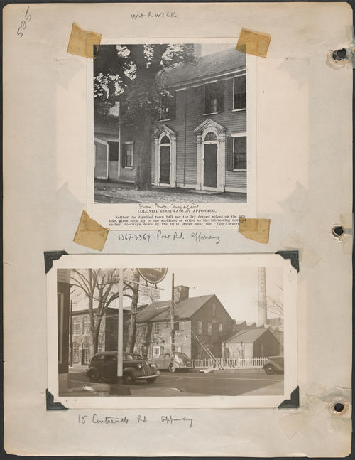 Page 525, Centreville Road; Post Road
