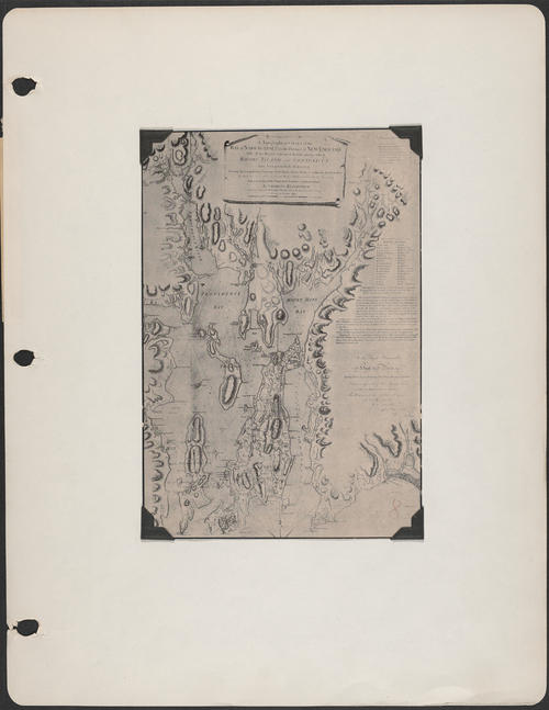 Chart of Narragansett Bay, 1777