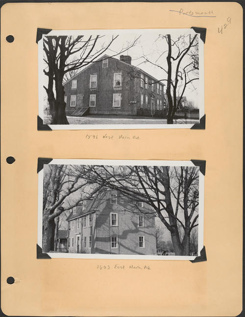 Page 429, East Main Road; West Main Road