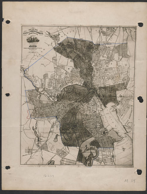 Sampson and Murdock Map of Providence, 1900, Providence