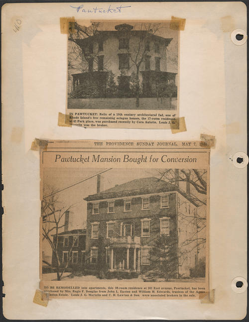 Page 410, Park Place; East Avenue