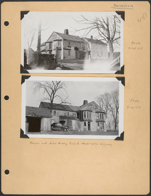 Page 443, John Mowry Road; Washington Highway