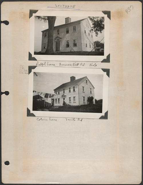 Page 437, Furnace Hill Road; Seven Mile Road