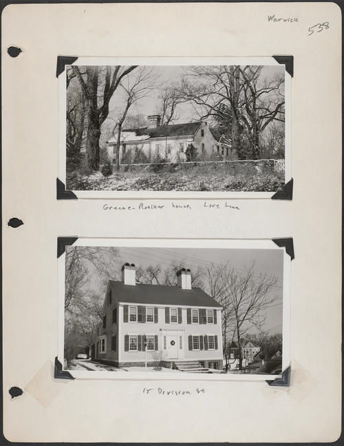 Page 538, Love Lane; Division Street