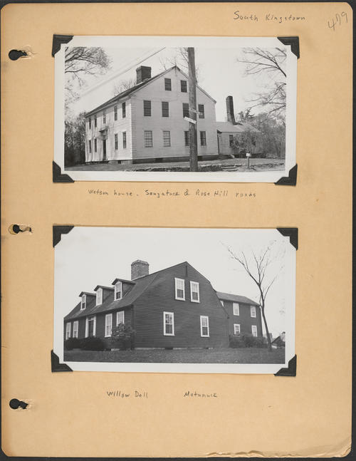 Page 479, Saugatuck Road; Rose Hill Road