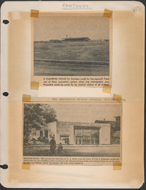 Page 417, Newport Avenue; Whittier Road