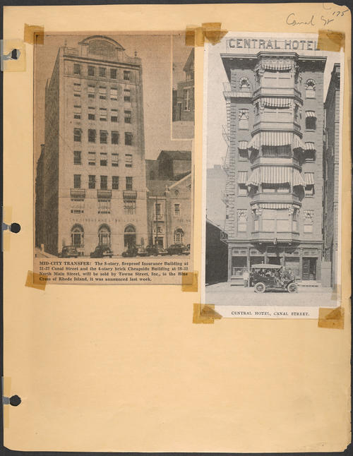 Page 175, Canal Street; North Main Street