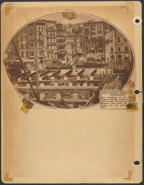 Page 235, Market Square; Canal Street; Washington Row