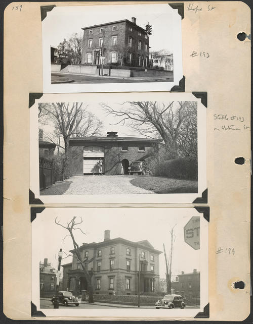 Page 157, Hope Street; Waterman Street