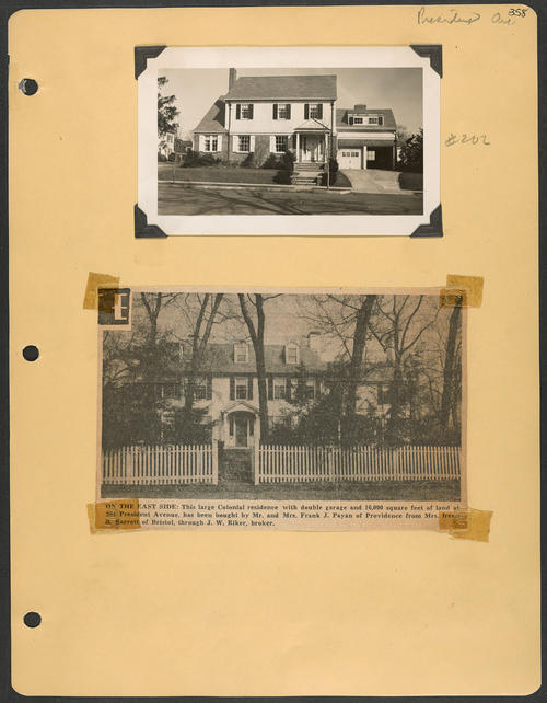 Page 358, President Avenue