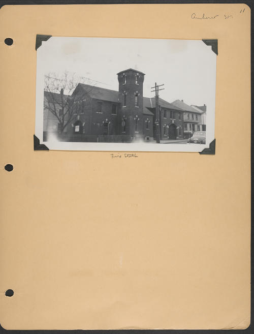 Page 11, Amherst Street