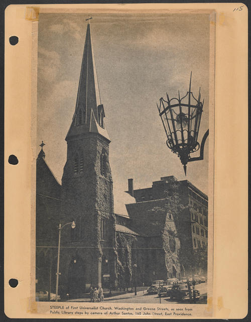 Page 115, Washington Street; Greene Street