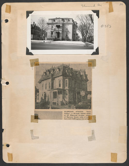 Page 36, Elmwood Avenue