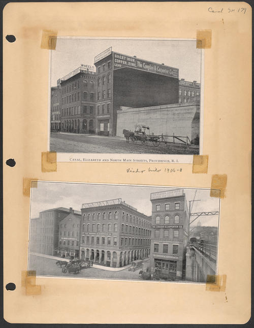 Page 179, Canal Street; Elizabeth Street; North Main Street