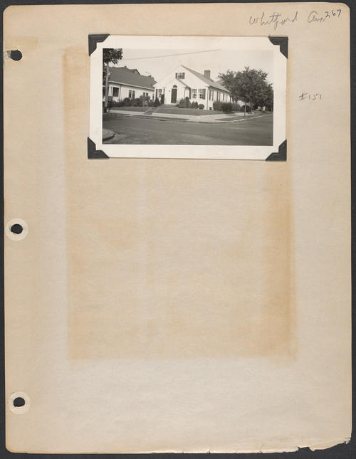 Page 267, Whitford Avenue