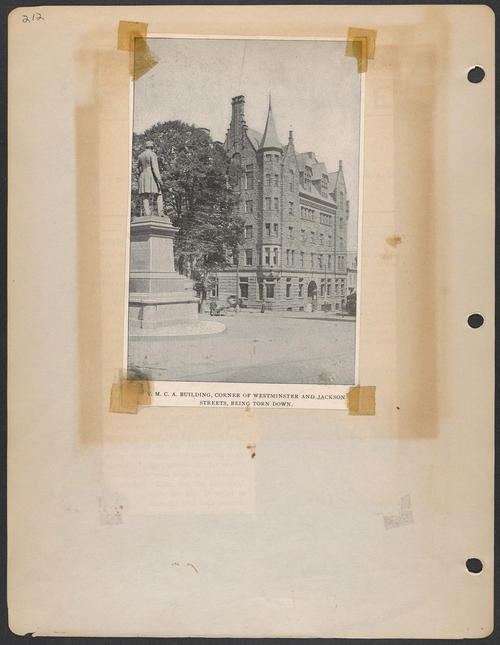 Page 212, Westminster Street; Jackson Street