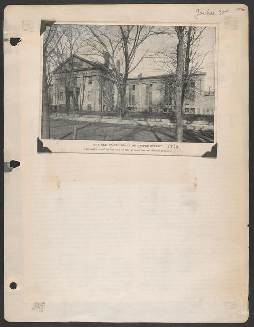 Page 106, Gaspee Street
