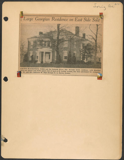 Page 210, Loring Avenue