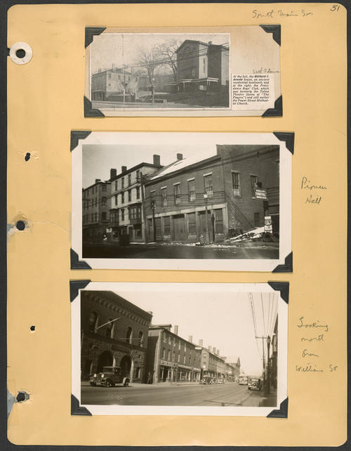 Page 51, South Main Street; Williams Street