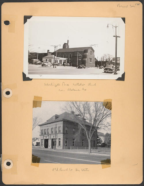 Page 141, Broad Street; Alabama Avenue
