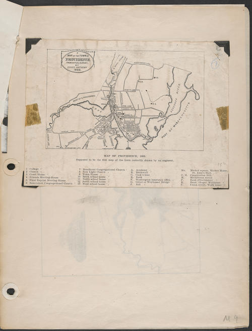 Anthony, Map of Providence. 1803, Providence