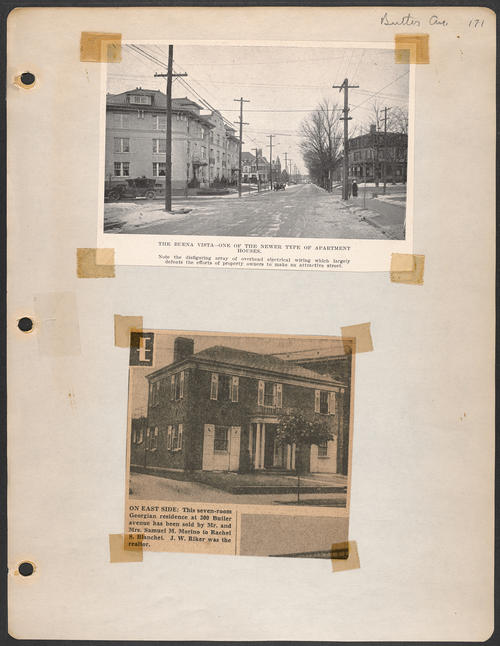 Page 171, Butler Avenue