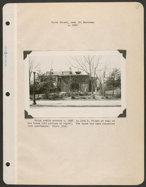 Page 23, Cooke Street; Waterman Street