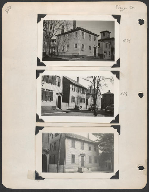 Page 352, Thayer Street