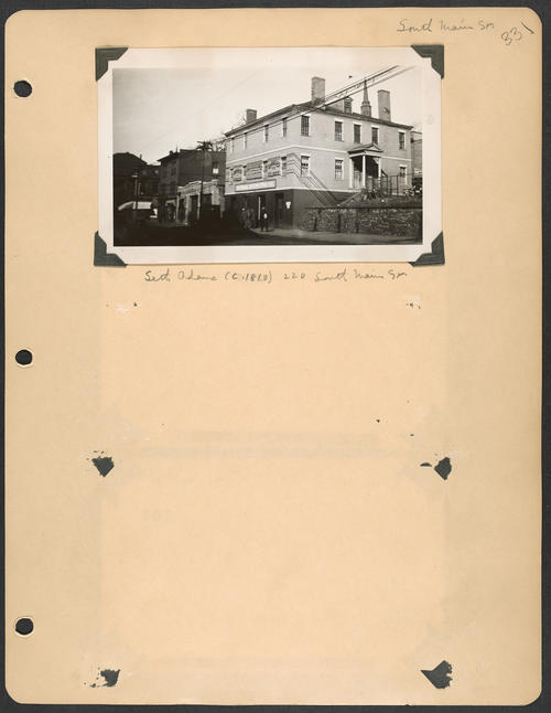 Page 331, South Main Street